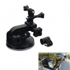 Suction Cup Car Mount Holder for GoPro Hero 4 / 3+ / 3 / 2 / SJ4000 / SJ5000 - Black