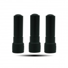 D-J1 5cm Mini Short SMA-J 400~470MHz UHF Antennas for Walkie Talkie - Black (3 PCS)