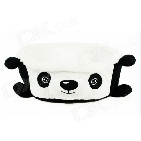 YDL-WJ3001-P-M Fashionable Panda Style Nest Bed for Pet Cat / Dog - Black + White (Size M)