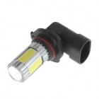 Zweihnder 9006 17W 1600lm 6500K 5 x LEDs White Light Bulb for Car Fog Lamp (12-24V / 2PCS)