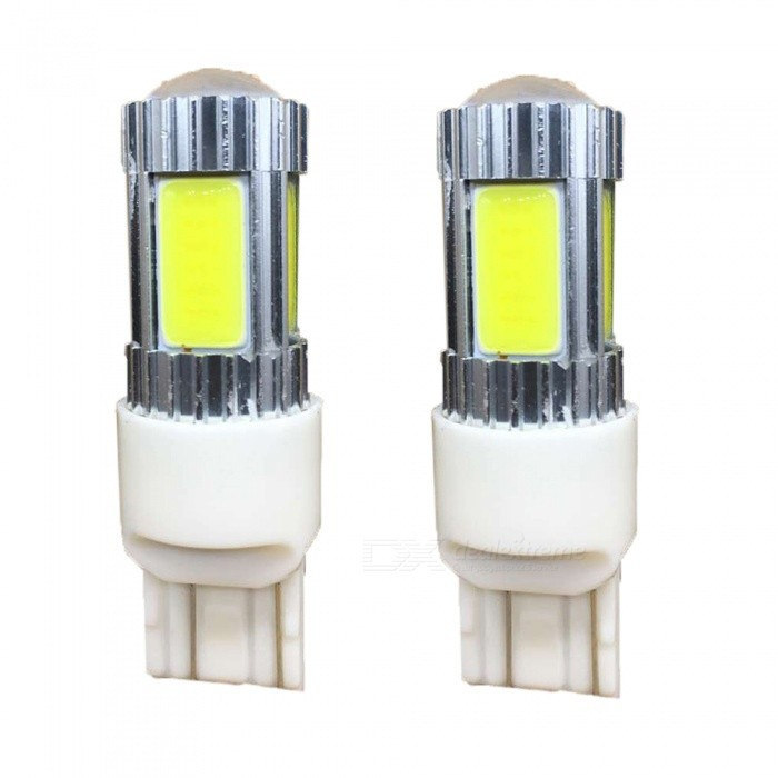 Zweihnder T20 17W 1600lm 6500K 5 x LEDs White Light Bulb for Car Fog Lamp (12-24V / 2PCS)