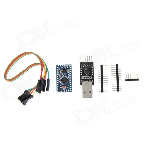 Microcontroller Board + CP2102 Module + DuPont Cable + Pin Headers for Arduino - Blue 14 8v original mindray beneheart d1 d2 d3 battery