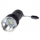Convoy M2 860lm 2-Group 3/5-Mode Lanterna LED branco com Cree XM-L2 U2 - Preto (1 x 18650)