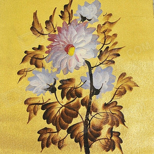 hand-painted-peony-flowers-gold-foil-canvas-oil-painting-golden-white-45-x-35cm