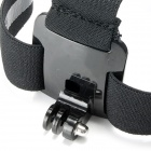 J109 Head Mount Strap + Long Screw for GoPro Hero / SJ4000 - Black