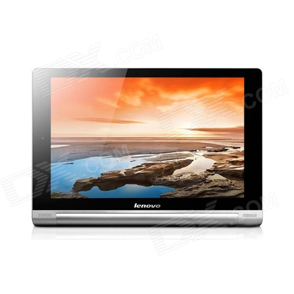 Lenovo B8000-F YOGA 10 Android 4.2 Quad-core Tablet PC w/ 1GB RAM, 16GB ROM, Wi-Fi, GPS - Silver zgpax s5 watch smart phone dual core 1 54 inch capacitive touch screen android 4 0 512mb ram 4g rom 2mp camera with gps silver black