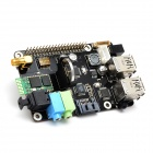 Supstronics X300 Expansion Board for Raspberry Pi Model B+ - Black + Multicolored