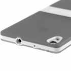 Hat-Prince Protective TPU Case w/ Stand for Huawei Ascend P7 - Gray