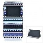 Patterned Flip-Open PU + ABS Case w/ Stand / Card Slot / View Window for IPHONE 6 PLUS 5.5""