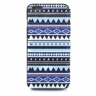 Patterned Flip-Open PU + ABS Case w / Stand / Card Slot / Window View voor iPhone 6 PLUS 5.5 ""