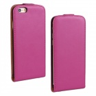 "WB-55PL Protective Sheep Skin Top Flip-Open Case for IPHONE 6 PLUS 5.5"" - Deep Pink"