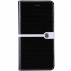 "NILLKIIN Ice Series Protective PU Leather Case w/ Auto Sleep for IPHONE 6 PLUS 5.5"" - Black"