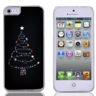 Christmas Tree Pattern PC Back Case for IPHONE 5 / 5S - Sapphire + Red