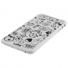 "ENKAY Cartoon Print Protective Matte Non-slip Case Back Cover for IPHONE 6 4.7"" - White"