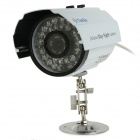 "YanSe YS-891CF Waterpoof 1/3"" CMOS CCTV Camera w/ 36-IR-LED / Stand - White"