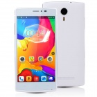 "F7 MTK6582 Quad-Core Android 4.4 WCDMA Bar Phone w/ 5.0"" QHD, 8GB ROM, GPS, WiFi - White"