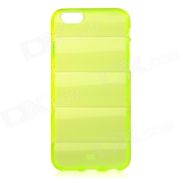 Protective Washable Soft TPU Back Case for IPHONE 6 4.7 - Translucent Green protective washable soft tpu back case for iphone 6 4 7 translucent green
