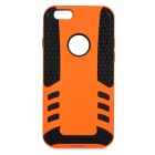 "2-in-1 Protective PC + TPU Back Case Cover for IPHONE 6 4.7"" - Black + Orange"