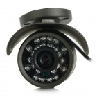 "YanSe YS-F276CFB Water-resistant 1/3"" CMOS 900TVL CCTV Camera w/ 24-IR-LED - Blackish Grey (NTSC)"