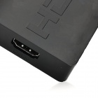 Mini 1080P 3-In 1-OUT HDMI Switch w / LED Indicator - Preto