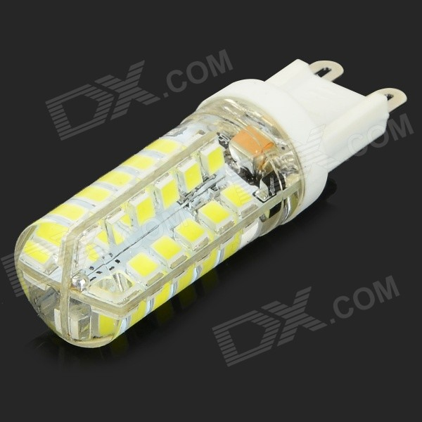 JRLED G9 4W 300lm 8000K 48-SMD 2835 LED Cool White Dimmable Mini Bulb - White + Yellow (AC 220~240V)