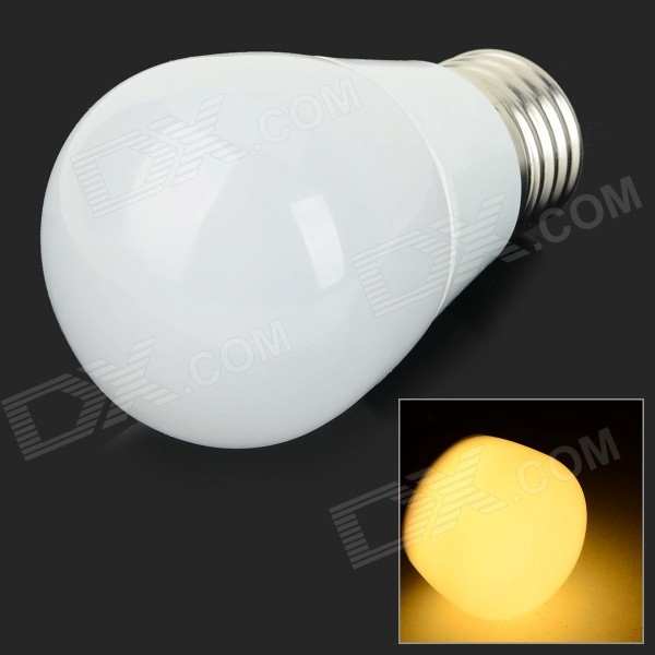 XUNRUIXING F-N103 E27 3W 280lm 3000K 15-SMD 2835 LED Warm White Light Bulb - White (AC 220V) 5pcs e27 led bulb 2w 4w 6w vintage cold white warm white edison lamp g45 led filament decorative bulb ac 220v 240v