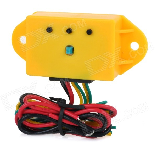 YingHua YH-8902 Motorcycle Car DIY 12V Strobe Stroboscopic Controller for LED - Yellow + Multicolor