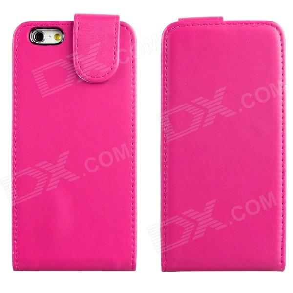 цены DF-028 Protective Top Flip Open PU Leather + Plastic Case for IPHONE 6 4.7