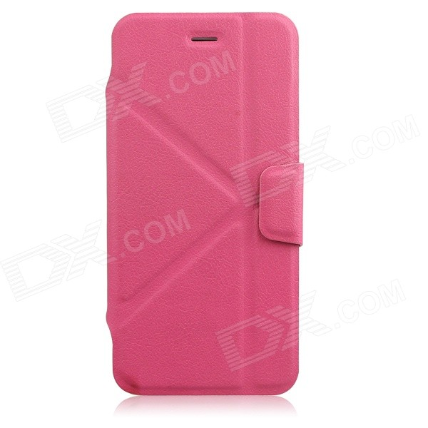 JSM Protective PU + TPU Full Body Case for IPHONE 6 4.7 - Deep Pink - DXLeather Cases<br>Color Deep Pink Shade Of Color Pink Brand N/A Model N/A Quantity 1 Piece Material PU + TPU Compatible Models IPHONE 6Others4.7 inch Style Full Body Cases Design Solid ColorWith Stand Auto Wake-up / Sleep No Packing List 1 x Protective Case<br>
