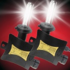 H9 55W 3158lm 3000K Golden Yellow Car HID Xenon Lamps w/ Ballasts Kit (Pair / 13.2V)