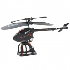 2.5-Channel Folding Remote Control Deformation Helicopter - Black + Orange