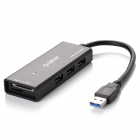 ORICO H33TS-U3-BK 3 Ports Portable USB3.0 HUB w/ Card Reader - Black