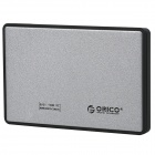 "ORICO 2588US3-SV 2.5"" USB 3.0 External Portable HDD Enclosure for Notebook - Silver (Max. 1TB)"