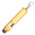 Portable Selfie Bluetooth v3.0 Remote Shutter / Stylus Pen for IPHONE / IPAD / Android Phone - Gold