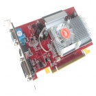 ATI Radeon X1550 256M 128bit PCI Express X16 Graphics Card - Red + Silver