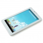 "IAWAI M701 7 ""IPS Android 4.2.2 Quad Core Tablet PC w / 512 MB RAM, 8 gb ROM, Bluetooth, 2 x SIM -Bílý"