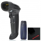 Handheld 2.4GHz Wireless Rechargeable Barcode Scanner Gun w/ USB Receiver - Black