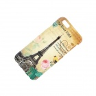 "Retro Eiffel Tower Style Pattern TPU Soft Back Case for IPHONE 6 4.7"" - Beige + Black + Multi-Color"