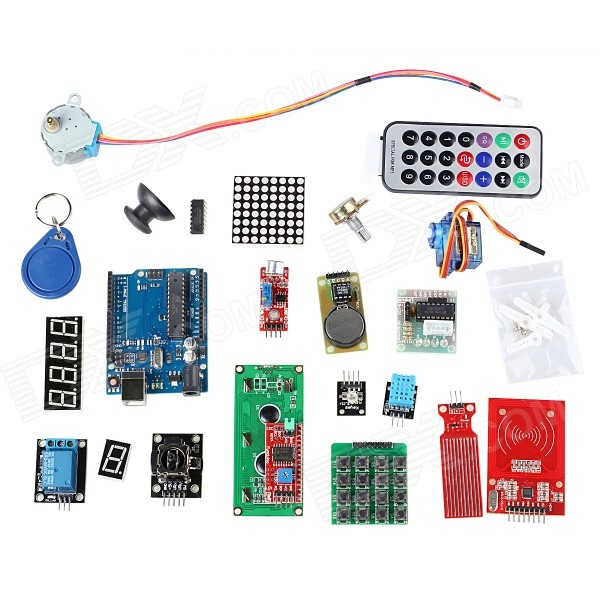 RFID System Learning Kit w / UNO R3 Step Motor, RFID IC Series Module for Arduino