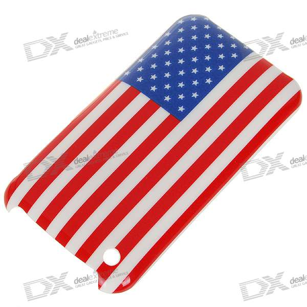 National Flag Plastic Protective Case for Iphone 3g/3GS - America