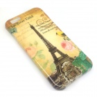 Cartoon Patterned TPU Soft Case Cover Skin for IPHONE 6 - Yellow + Brown
