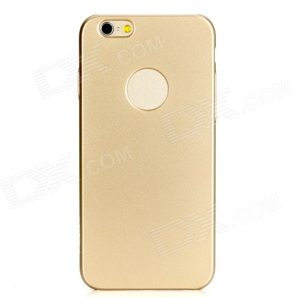ROCK Glory Series Protective PC Back Cover Case for IPHONE 6 4.7 - Champagne Gold hoco defender series plated pc case for apple watch 38mm series 1 series 2 gold