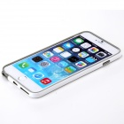 "ROCK Protective TPU + PC Bumper Frame Case for IPHONE 6 PLUS 5.5"" -  White + Light Gray"