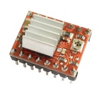 HF-A4988 Stepper Motor Driver Module for 3D Printer With Heat Sink - Red + Black