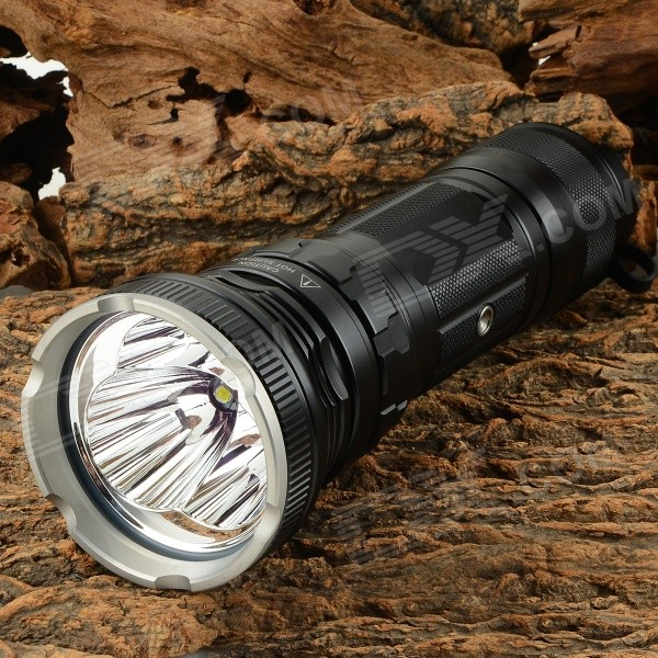 JETBeam RRT3 1950lm 7-Mode Cool White LED Flashlight - Black (3 x 18650) от DX.com INT