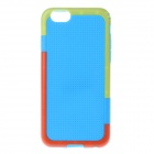 "Fashion Dots Pattern TPU Protective Case for IPHONE 6 4.7"" - Blue"