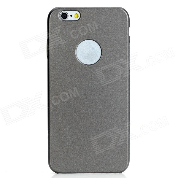 ROCK Glory Series Protective PC Back Cover Case for IPHONE 6 4.7 - Iron Gray hoco defender series plating pc case for apple watch 38mm series 1 series 2 silver
