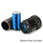 JETBeam DDR30 1100lm 4-Mode Cool White LED Flashlight - Black (3 x 18650)