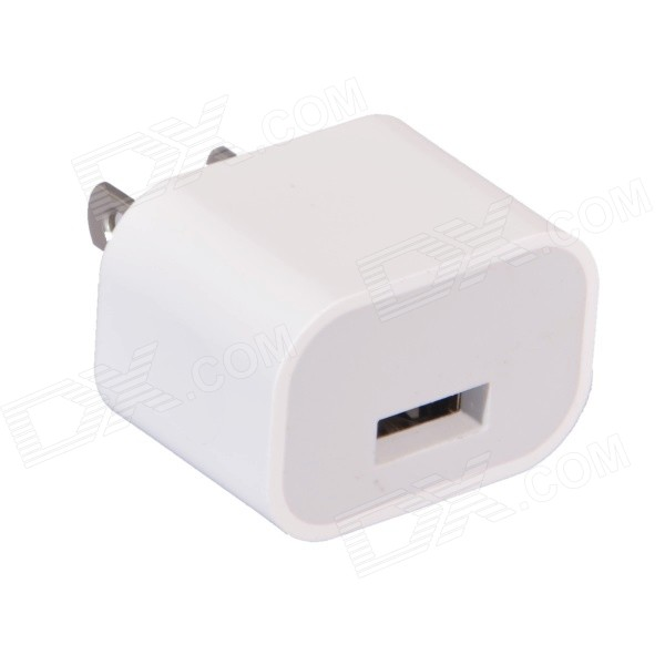 US Plugss adaptador de corriente w / salida USB universal para IPHONE 6/6 PLUS + más - blanco