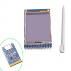 "GC 2.4"" TFT LCD Touch Shield Display Module w/ Touch Pen for Arduino - Blue"